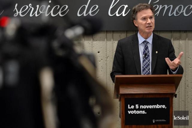 PierreReid, directeur général des élections du Québec... (Photo Érick Labbé, archives Le Soleil)