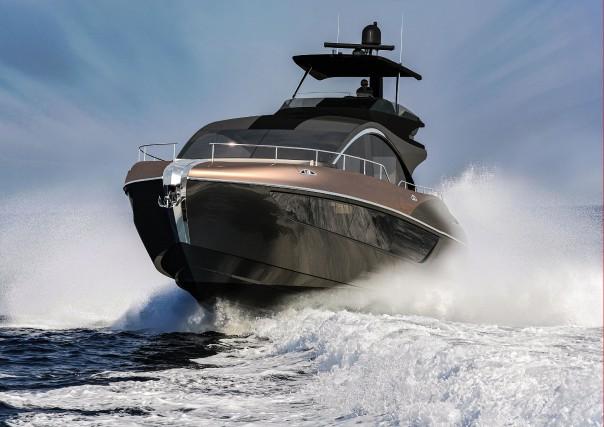Le yacht LY 650 de Lexus.... (photo lexus)