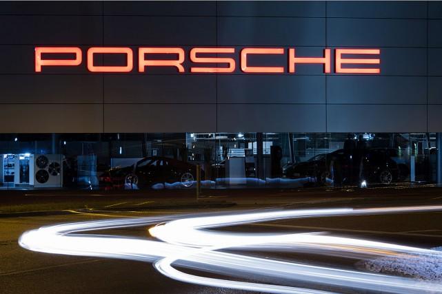 Le siège social de Porche installé à Stuttgart... (PHOTO SILAS STEIN, ARCHIVES DPA VIA AFP)