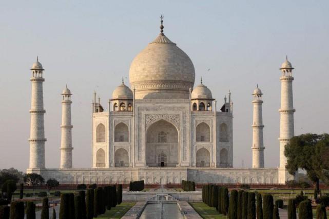 Le Taj Mahal, dans toute sa splendeur... (PhotoLudovic MARIN, Archives Agence France-Presse)