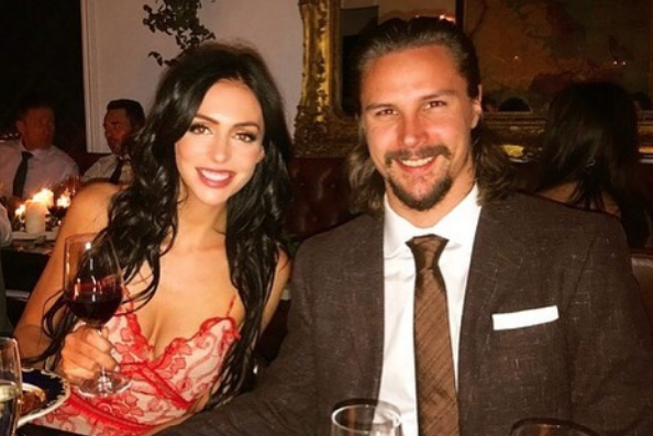 Melinda et Erik Karlsson... (Photo tirée d'Instagram)