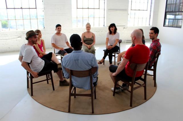 Les participants au docuréalité se sont réunis une... (Photo fournie par Unis TV)
