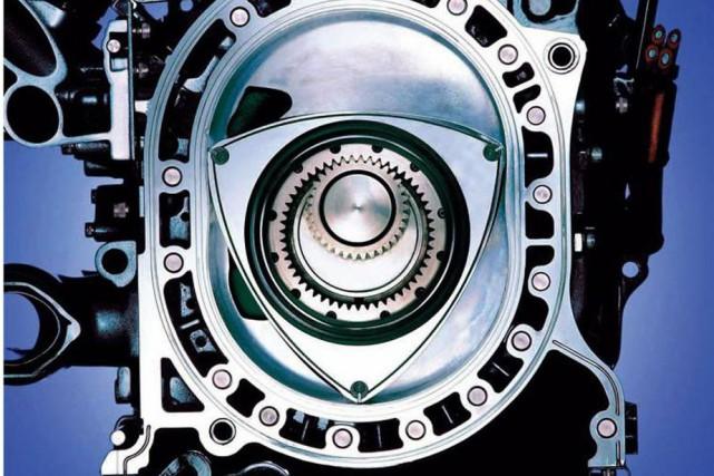 Le moteur rotatif de type Wankel fait partie... (Photo Mazda)