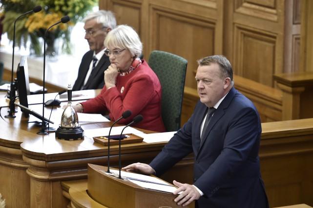 Le premier ministre du Danemark Lars Løkke Rasmussen... (Photo Agence Ritzau Scanpix via AP)