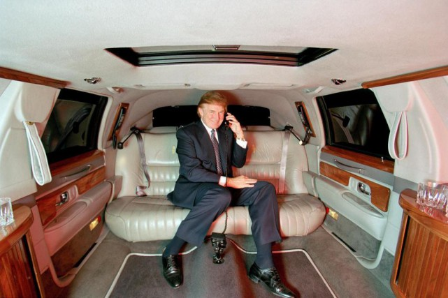 Donald Trump, à New York, en 1999... (PhotoJeffery A. Salter, Archives The New York Times)