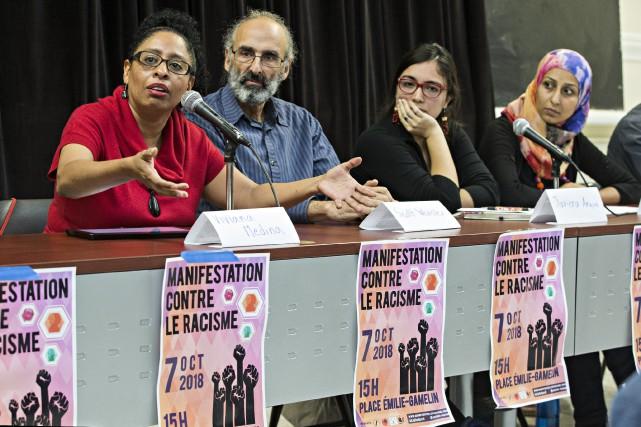 L'un des groupes qui participera à la manifestation,... (PHOTO PATRICK SANFAÇON, LA PRESSE)
