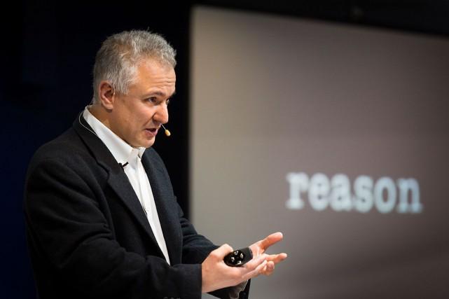 Les deux autres piégeurs sont Peter Boghossian (photo),... (Photo ecso.org)