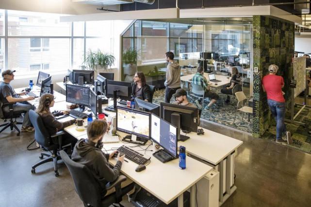 Fondé en 2005, Ubisoft Québeccompte aujourd'hui un demi-millier... (Photo fournie par ubisoft)