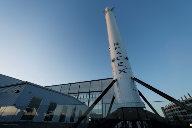 À terme, la NASA utilisera SpaceX et Boeing... (Photo Mike Blake, Reuters)