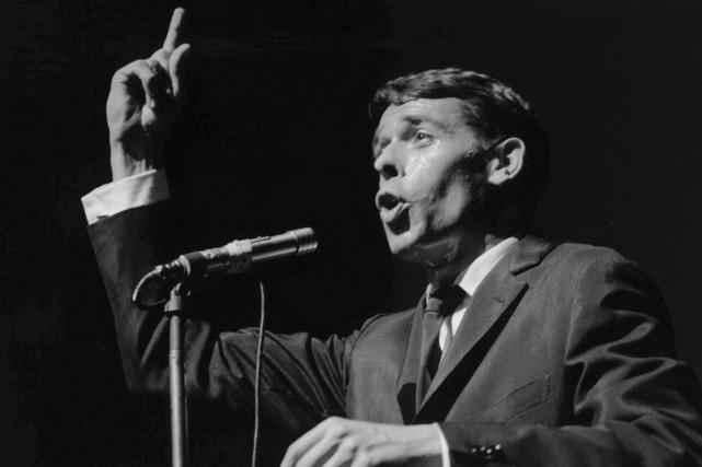 Les versions restaurées de deux concerts de Jacques Brel, celui de... (Photo Jean-Pierre Leloir, archives La Presse)