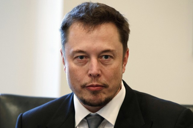 Elon Musk a qualifié la Securites and Exchange... (Photo Evan Vucci, AP)