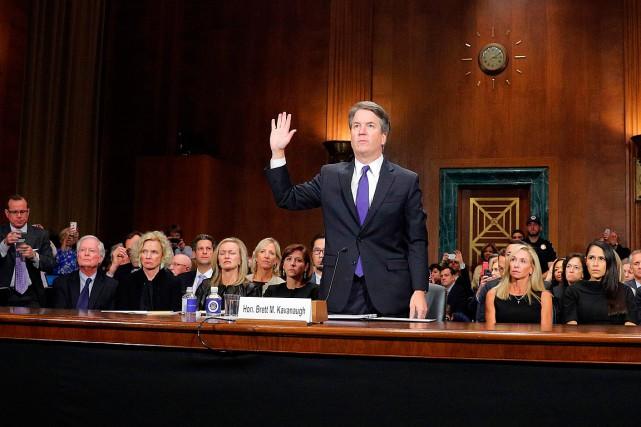 Le juge Kavanaugh à la Cour suprême, DonaldTrump crie victoire
