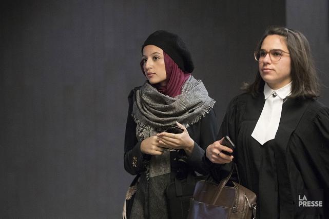 Rania Djermane, devait subir son enquête préliminaire, mais... (Ivanoh Demers, La Presse)