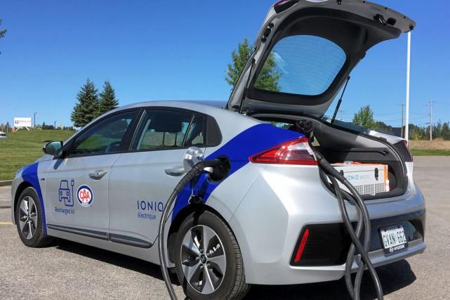Les voitures «donatrices» du CAA-Québec peut transférer un... (PHOTO CAA-QUÉBEC)