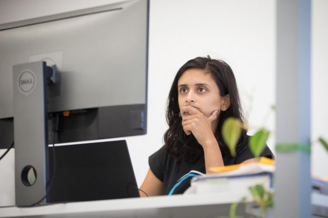 Tanya Nair, ingénieure de formation en apprentissage machine... (Photo Ivanoh Demers, La Presse)