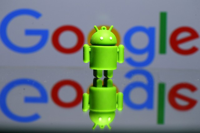 Google a interjeté appel mardi de l'amende record de 4,34 milliards d'euros qui... (Photo DADO RUVIC, ARCHIVES REUTERS)