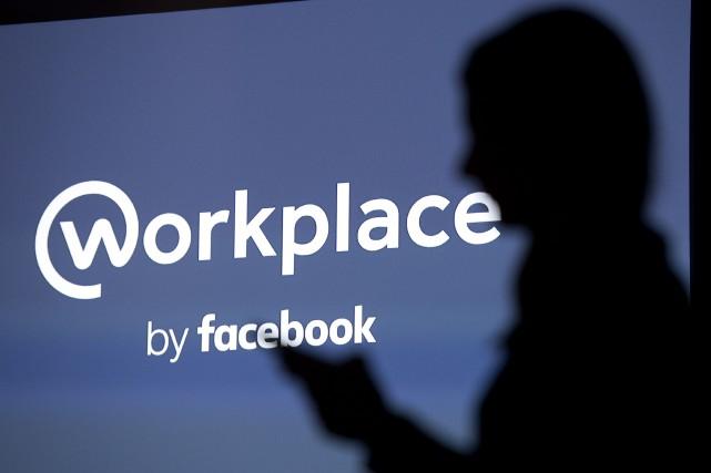 Workplace est une activité distincte de Facebook. Ce... (Photo JUSTIN TALLIS, archives Agence France-Presse)