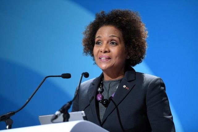 MichaëlleJean, qui brigue un deuxième mandat comme secrétaire... (ARCHIVES AFP)