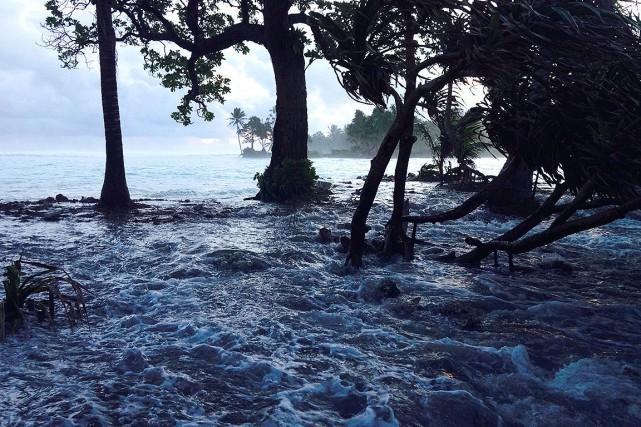 Les inondations et les tempêtes sont les deux... (Photo GIFF JOHNSON, archives AFP)