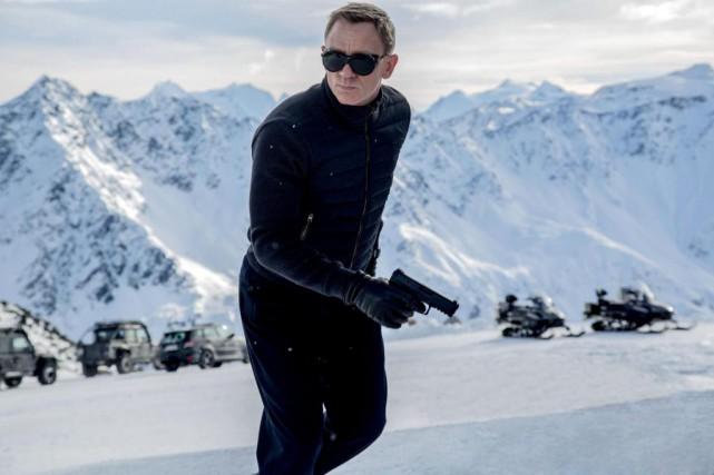 Daniel Craig incarnera l'agent 007pour la dernière fois... (Photo Jonathan Olley, fournie parColumbia Pictures)