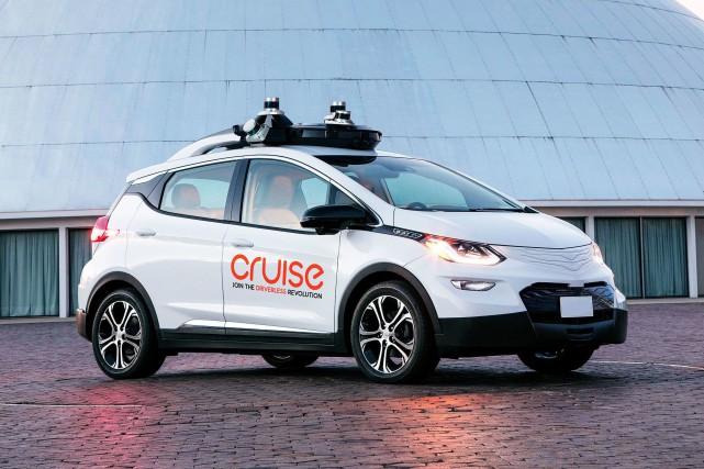 Une voiture autonome Cruse, une coentreprise de General... (Photo Cruse Automation)
