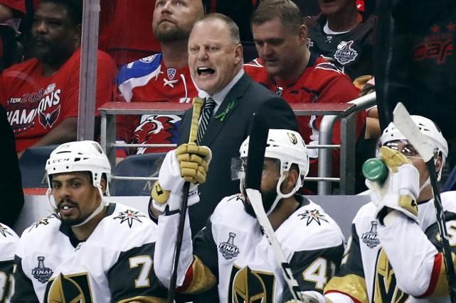 Les Golden Knights de Vegas ne jouent pas... (Photo Alex Brandon, archives Associated Press)