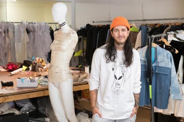Markantoine, designer et entrepreneur... (Photo Robert Skinner, La Presse)