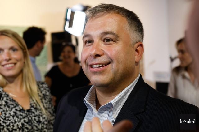 Sébastien Proulx a été le seul député libéral... (Photo Caroline Grégoire, archives Le Soleil)