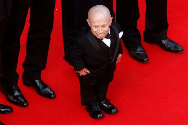 Verne Troyer sur le tapis rouge du Festival... (ARCHIVES REUTERS)