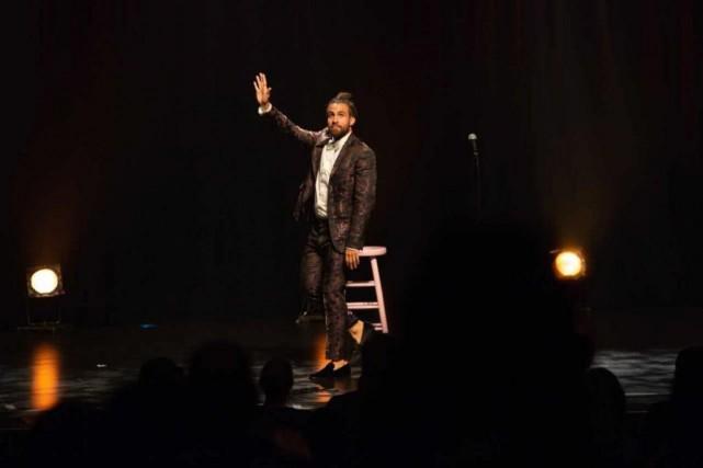 L'humoriste Jay Du Temple interagit beaucoup avec son... (Photogracieuseté Patrick St-Martin)