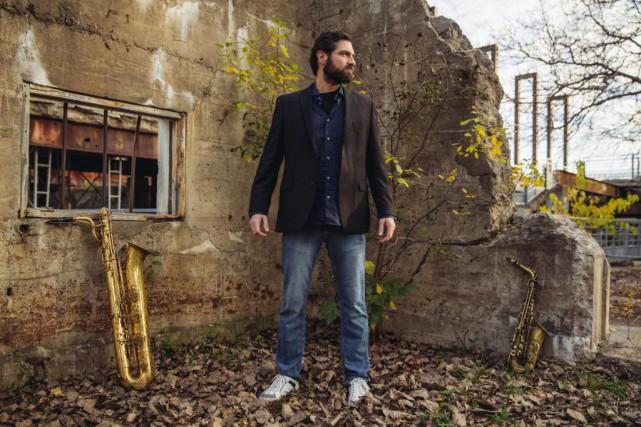 Samuel Blais, saxophoniste, assurera la soirée de clôture... (Photo Evan Shay, fournie par l'Off jazz)
