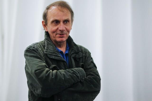 L'écrivain français Michel Houellebecq sortira un nouveau roman... (Photo EDUARDO MUNOZ ALVAREZ, archives AFP)