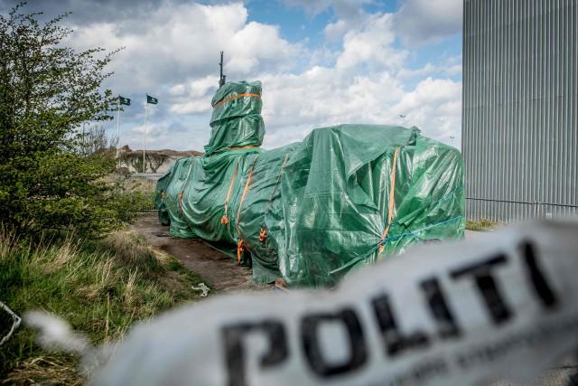 L'enquête sur le meurtre de la journaliste Kim... (Photo MADS CLAUS RASMUSSEN, archives AFP)