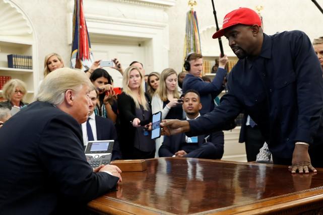 Donald Trump reçoit Kanye West dans le bureau ovale Nouvel Ordre Mondial, Nouvel Ordre Mondial Actualit�, Nouvel Ordre Mondial illuminati