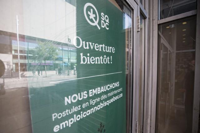 Une succursale de la SQDC ouvrira sur la... (Photo PATRICK SANFAÇON, La Presse)
