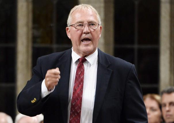 Le ministre de la Sécurité frontalière et de... (Photo Adrian Wyld, La Presse canadienne)
