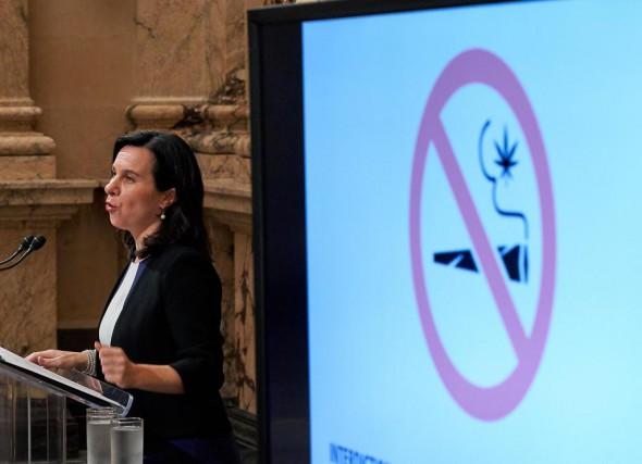 La mairesse de Montréal Valérie Plante a dévoilé... (Photo André Pichette, La Presse)