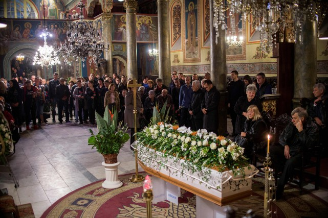 bdc16591edb7 Bulgarie  dernier hommage à la journaliste Viktoria Marinova   Europe