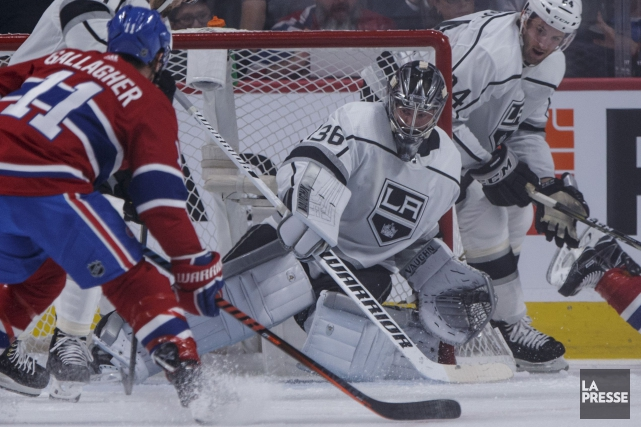 Le gardien des Kings de Los Angeles, Jack... (Photo Olivier Jean, La Presse)
