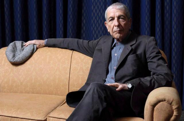 Leonard Cohen a consacré un poème à Kanye... (PhotoAaron Harris, Agence France-Presse)