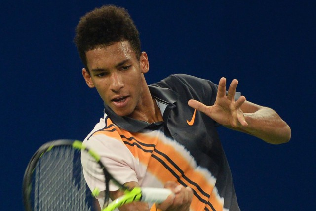 Félix Auger-Aliassime... (Photo archives AFP)