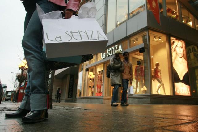 La Senza exploite 126 points de vente en... (Photo NORM BETTS, archives BLOOMBERG NEWS)