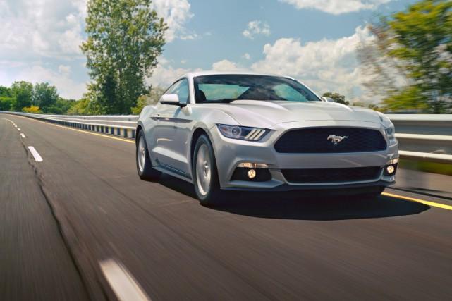 Notre lecteur envisage d'acheter une Mustang 2015.... (photo ford)