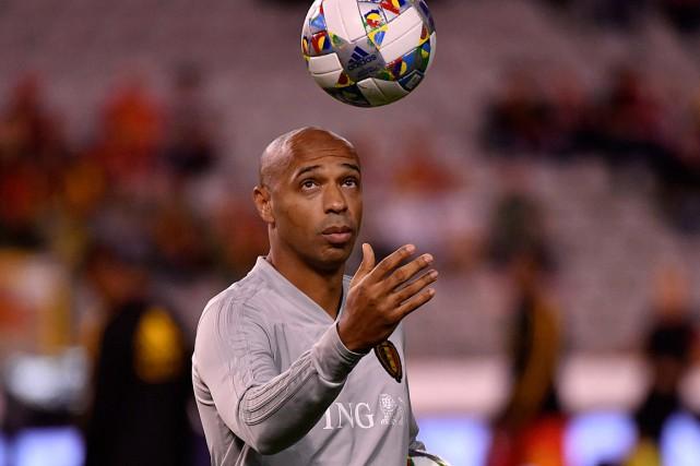 Avant som embauche à Monaco, Thierry Henry était... (Photo Geert Vanden Wijngaert, Associated Press)
