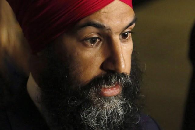 Le chef du NPD, Jagmeet Singh, s'adressera à... (PHOTO Patrick Doyle, ARCHIVES LA PRESSE CANADIENNE)