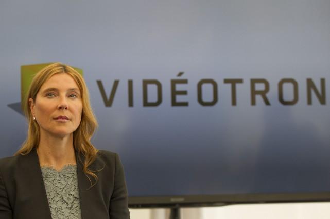 Manon Brouillette laissera les commandes de Vidéotron à la fin de l'année