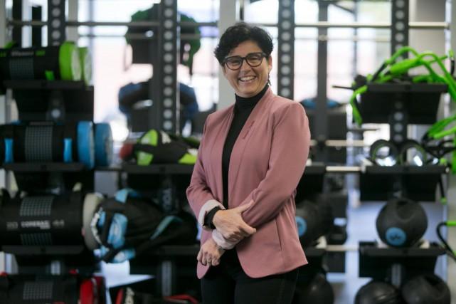 Éveline Canape, copropriétaire et vice-présidente d'Énergie Cardio... (Photo François Roy, La Presse)
