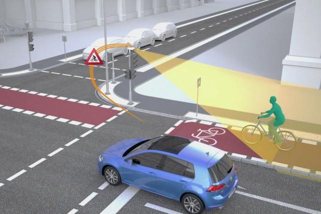 Des capteurs spéciaux installés à une dizaine d'intersections... (Photo Siemens Mobility)
