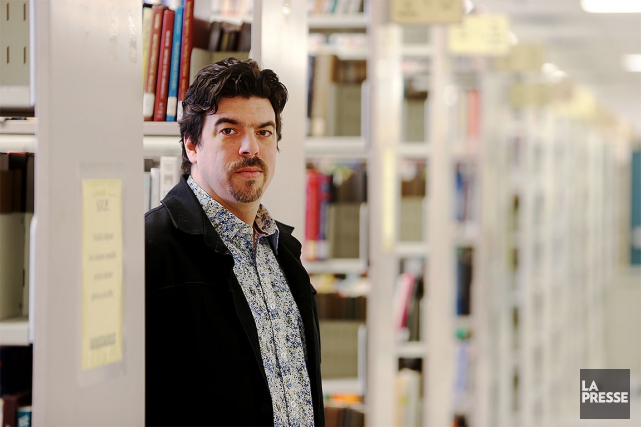 Jean-SébastienFallu, chercheur spécialiste entoxicomanie.... (Martin Chamberland, ARCHIVES La Presse)