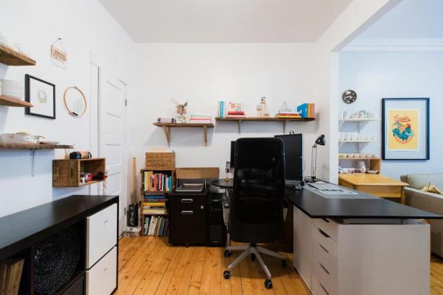 Aménagement Bureau À Domicile transformation d'un jour: repenser un bureau à domicile | vanessa